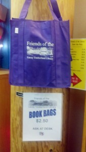 Purple Lacey Friends Bookbag