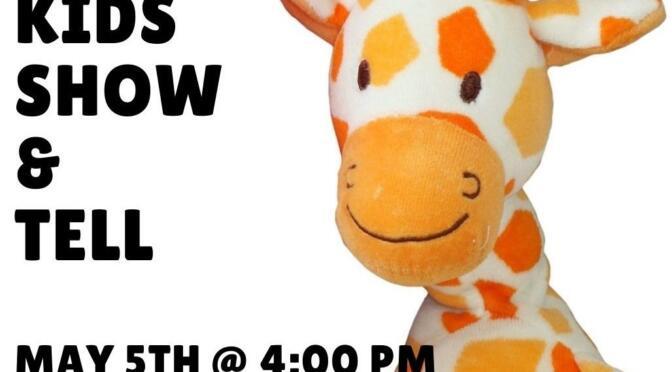 Kids Virtual Show & Tell