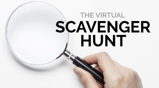 Zoom Scavenger Hunt: May 1, 11:00-11:45 pm